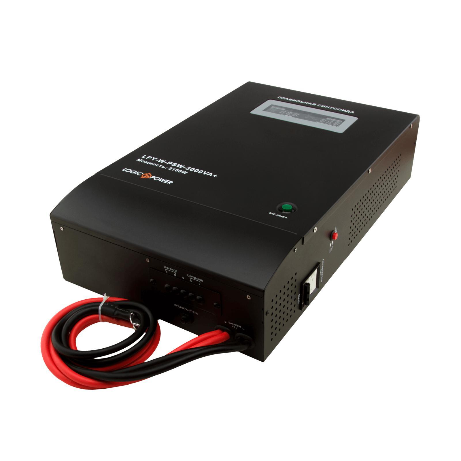 Источник бесперебойного питания LogicPower LPY- W - PSW-3000VA+, 10А/20А (4147) изображение 2