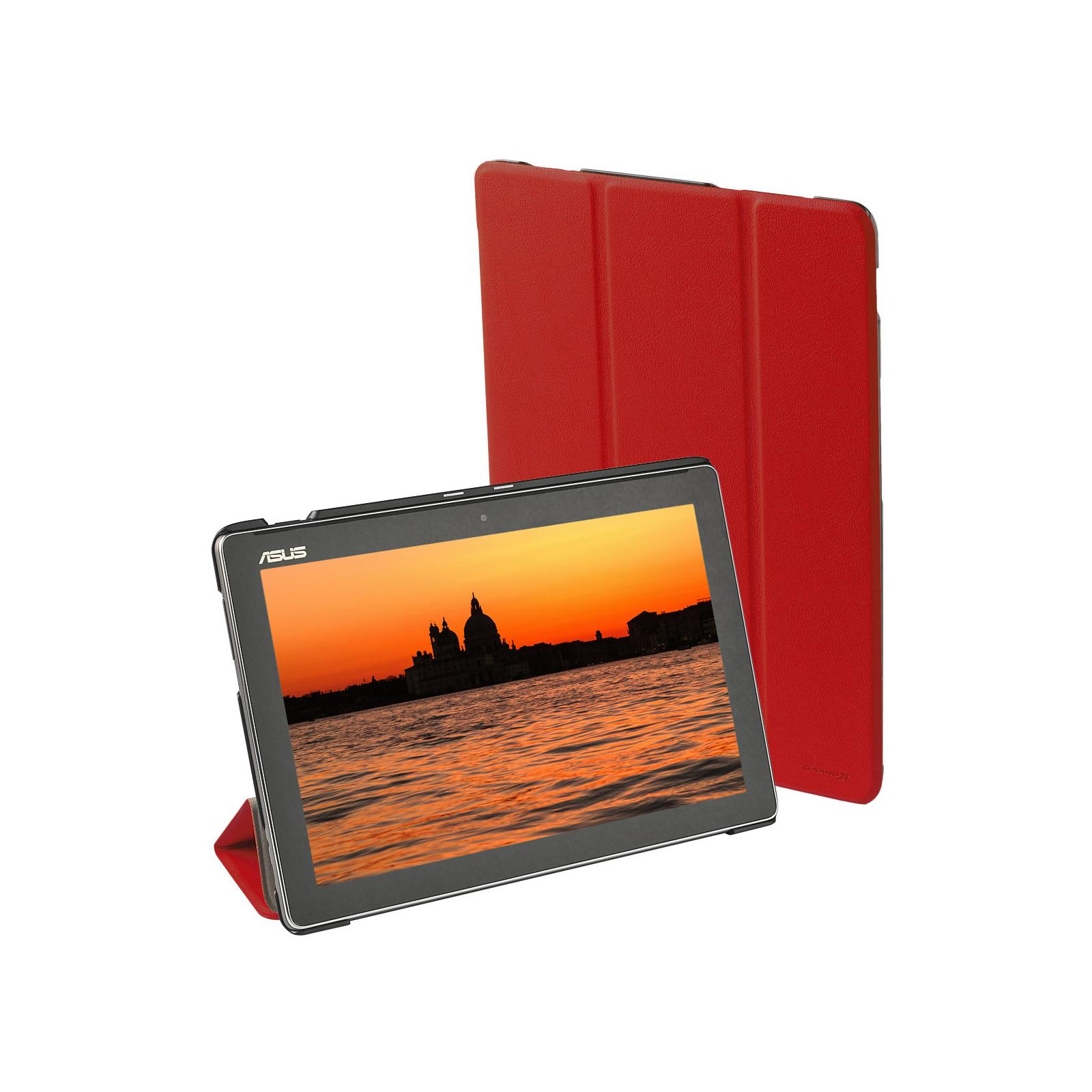 Чехол для планшета Grand-X ASUS ZenPad 10 Z300/Z300C Red (ATC - AZPZ300R) изображение 7