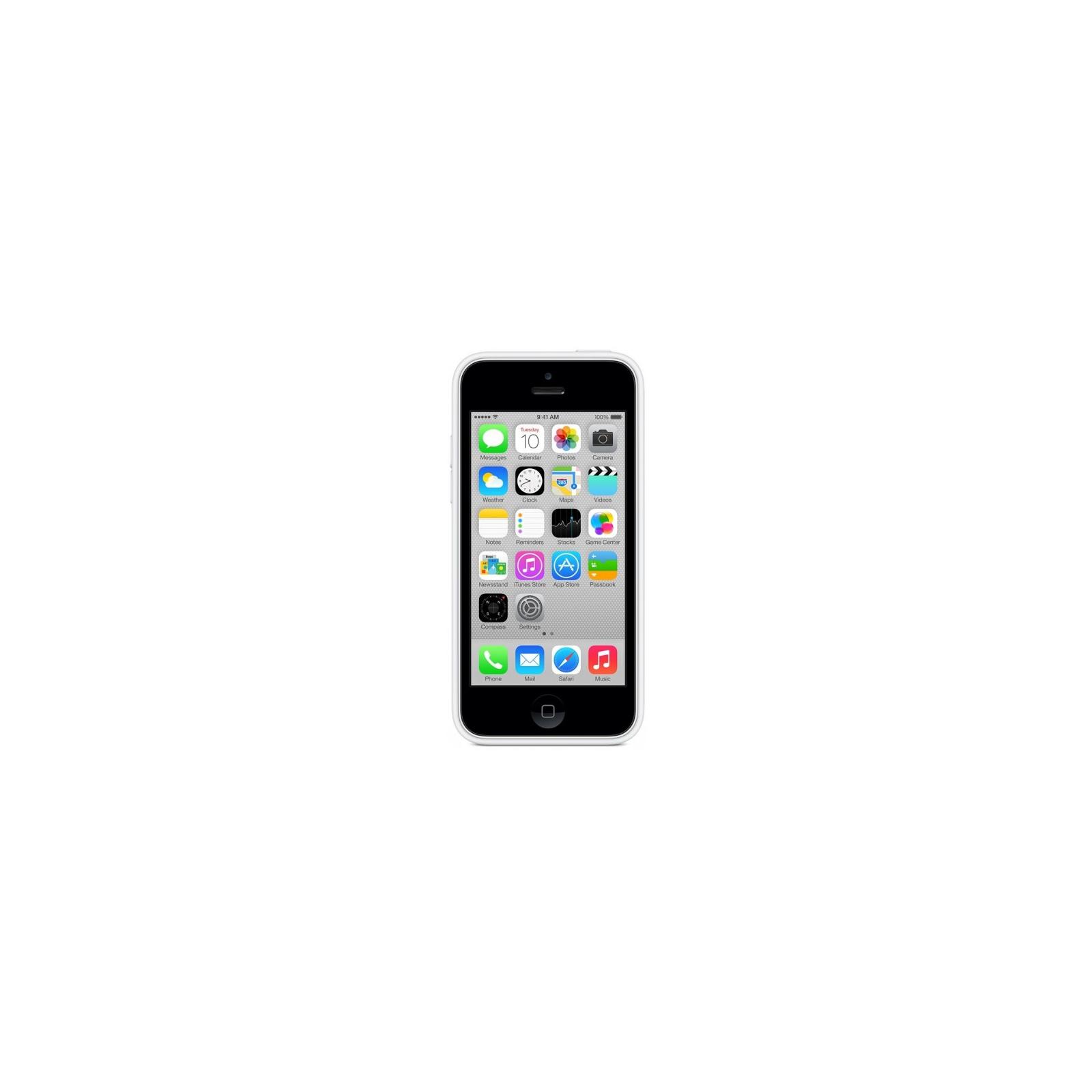 Чехол для моб. телефона Apple для iPhone 5c white (MF039ZM/A) изображение 4