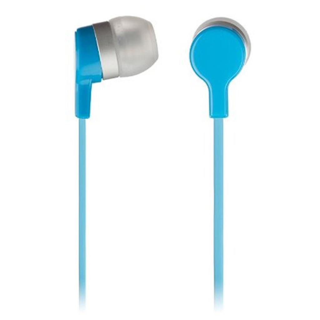 Наушники KitSound KS Mini In-Ear Headphones with In-Line Mic Blue (KSMINIBL)
