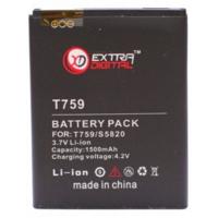Аккумуляторная батарея EXTRADIGITAL Samsung SGH-T759 Exhibit 4G (1500 mAh) (BMS6334)