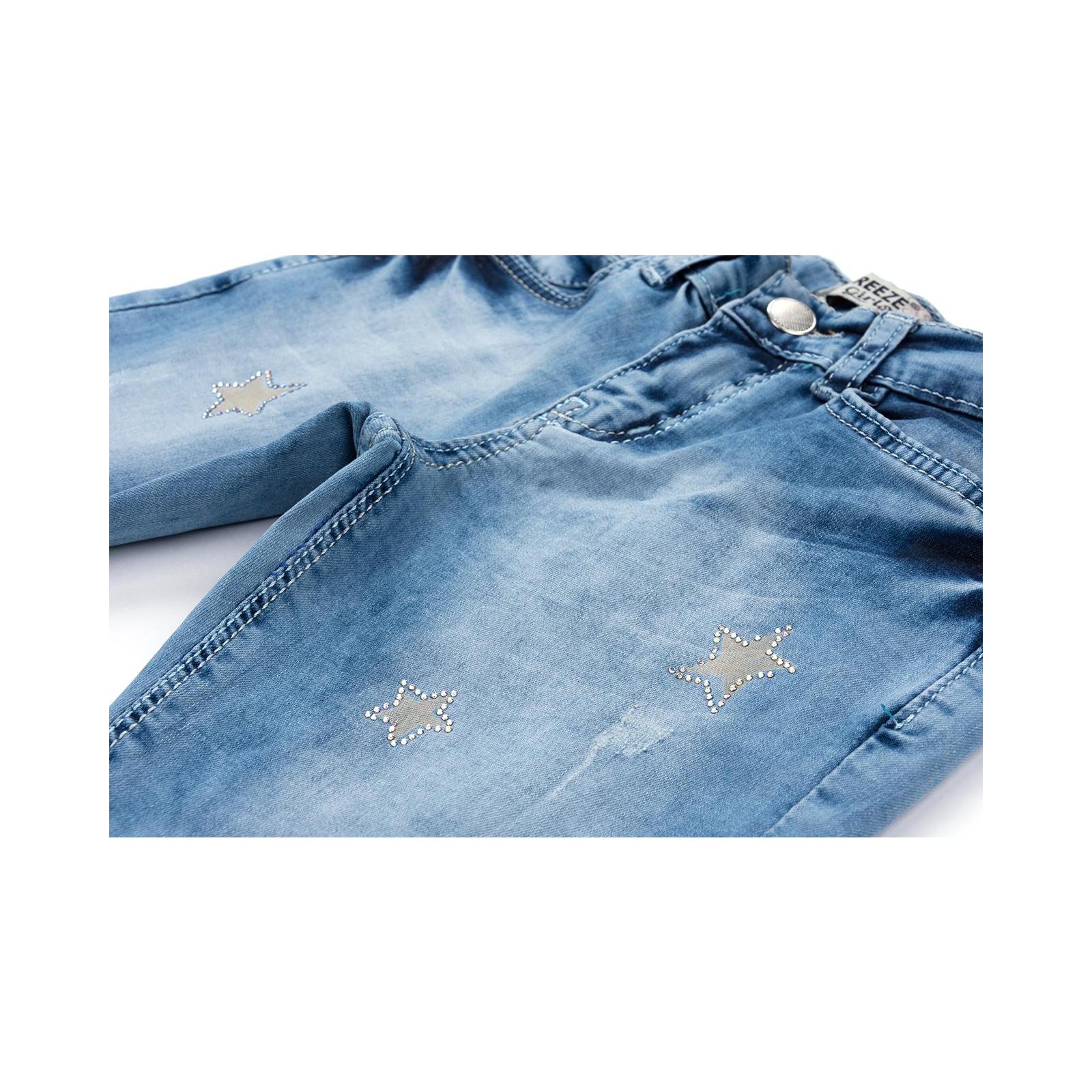 Джинсы Breeze со звездочками (20109-116G-blue) изображение 5