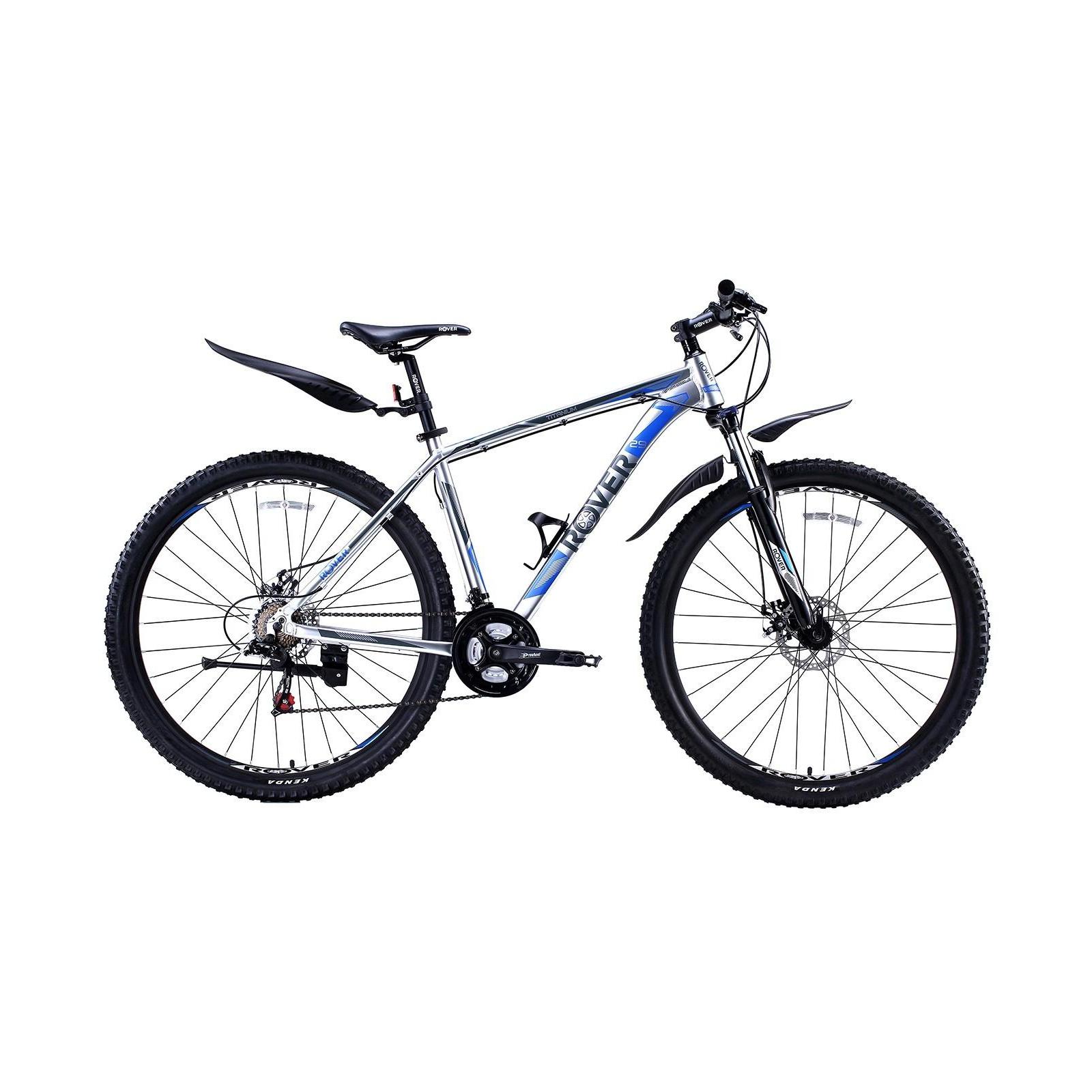 """Велосипед Rover Тitanium 29"""" рама 19"""" Grey/Grey Blue 2018 (341318)"""