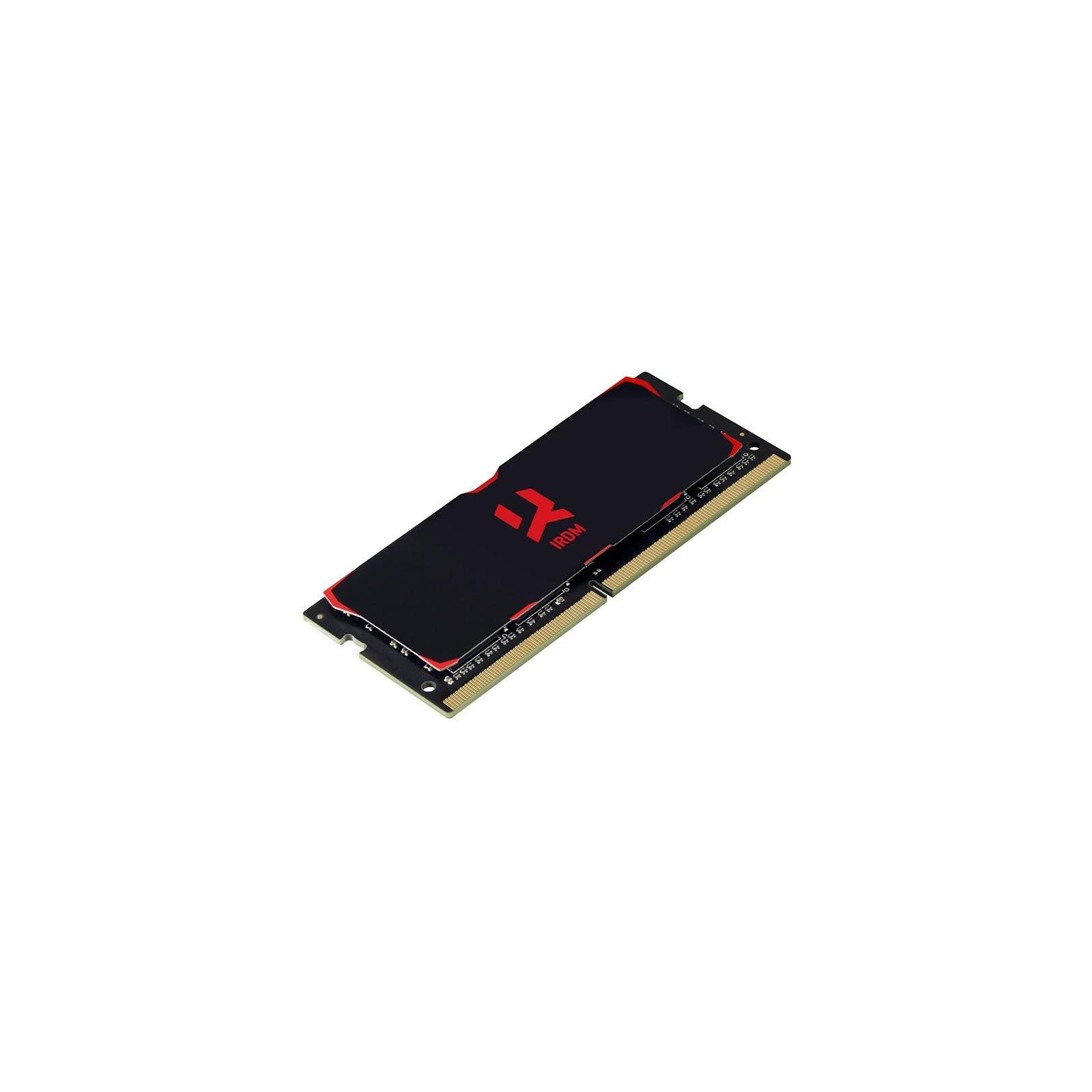 Модуль памяти для ноутбука SoDIMM DDR4 16GB 2400 MHz Iridium Goodram (IR-2400S464L15/16G) изображение 2