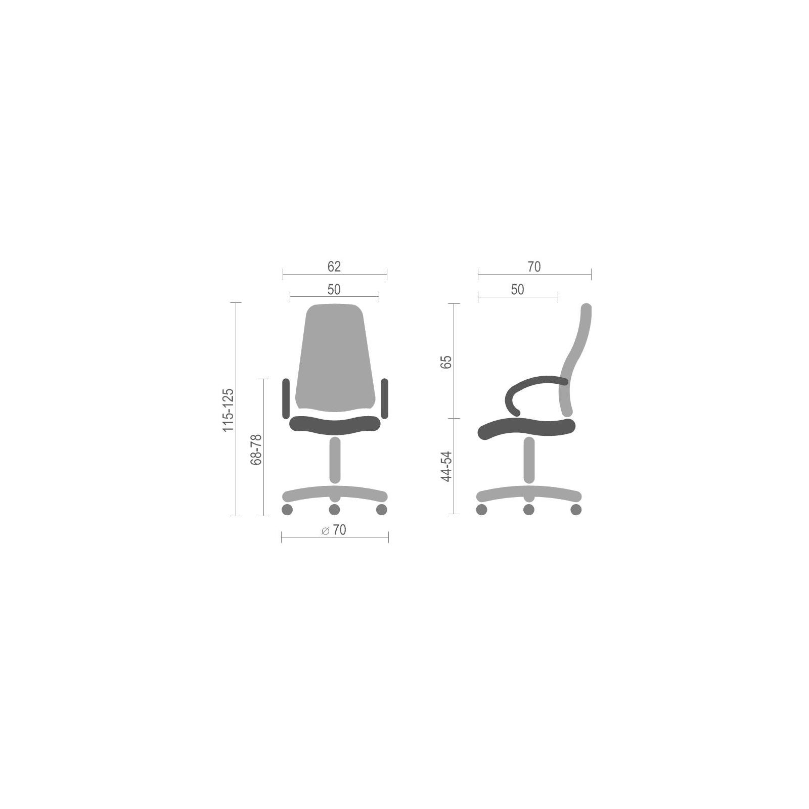 Кресло игровое АКЛАС Антарес PL TILT Белое (07347) изображение 6
