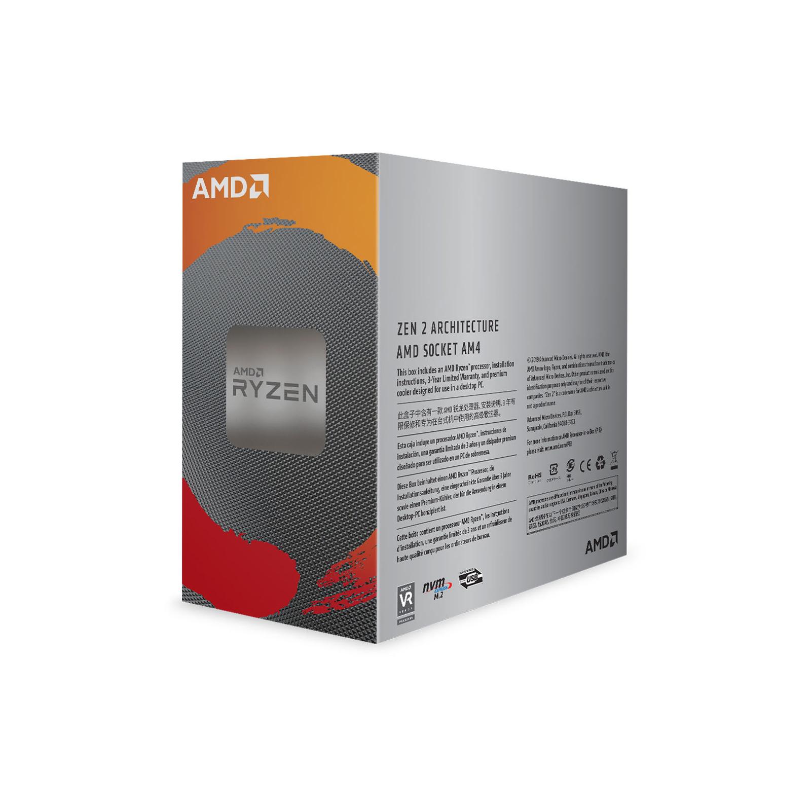 Процесор AMD Ryzen 5 3600 (100-100000031BOX) зображення 3