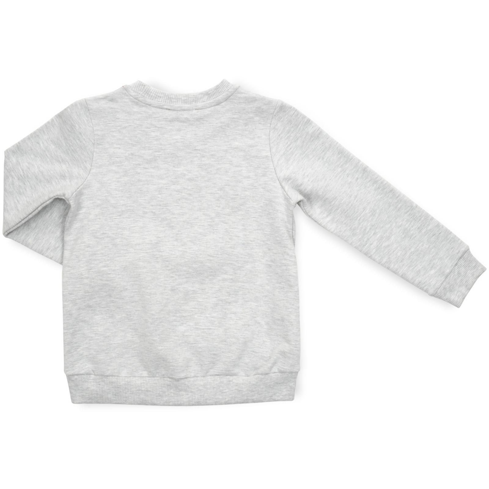 Кофта Breeze с сердечками (13240-110G-gray) изображение 2