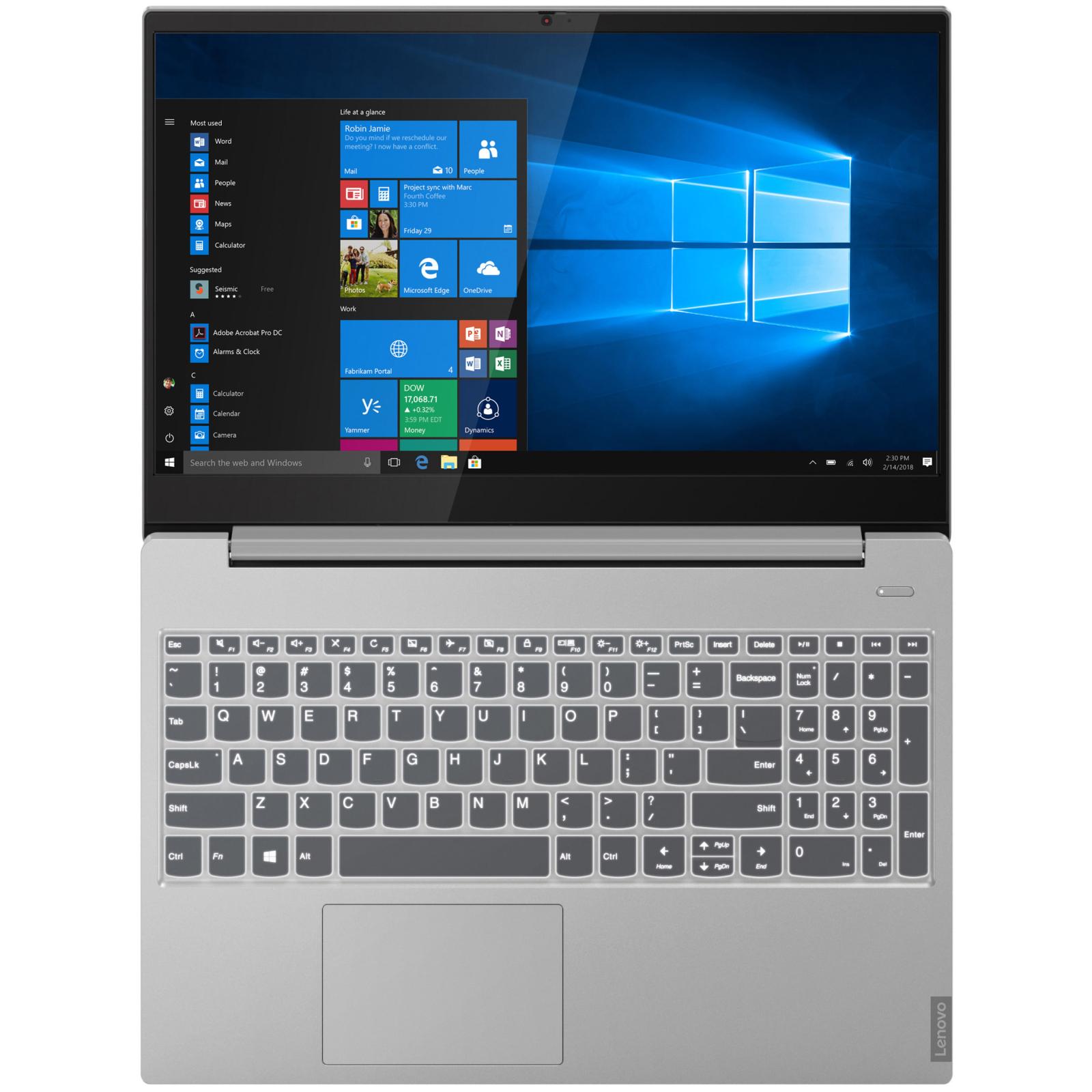 Ноутбук Lenovo IdeaPad S340-15 (81N800Y5RA) изображение 4