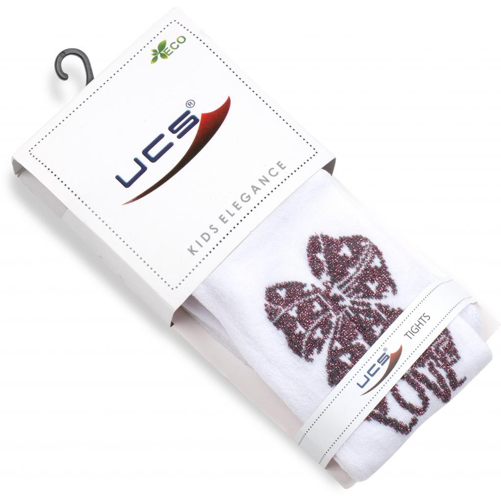 Колготки UCS Socks с бантом (M0C0301-2158-9G-white) изображение 2