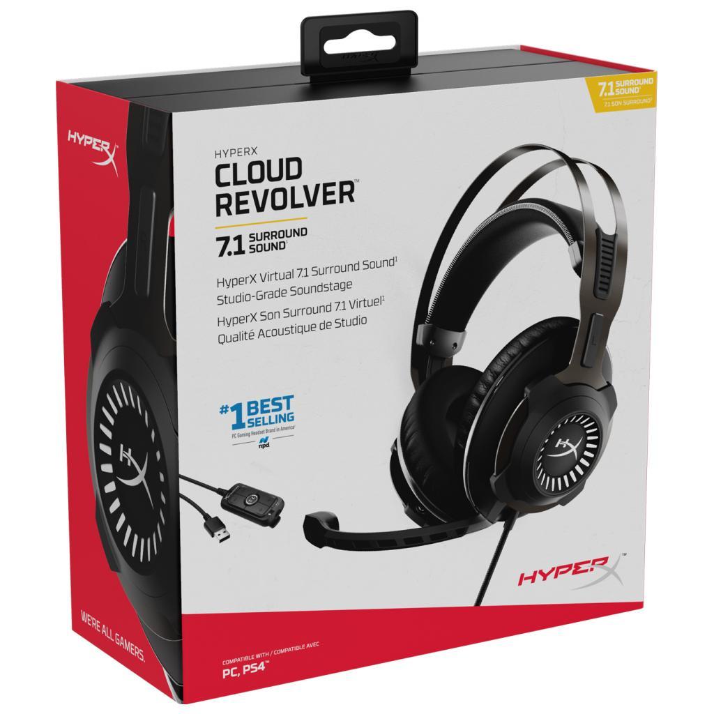 Навушники HyperX Cloud Revolver 7.1 Black (HHSR1-AH-GM/G) зображення 7