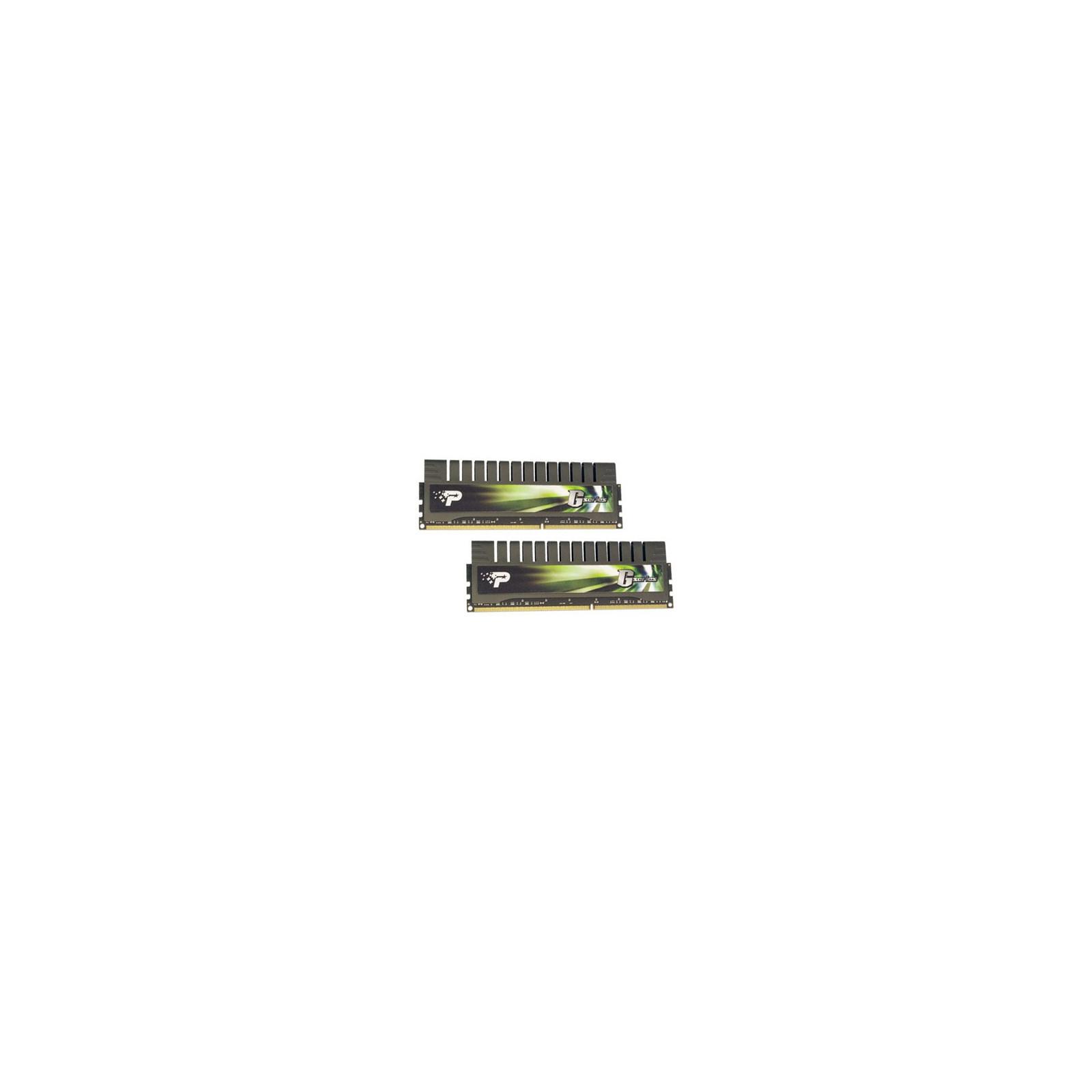 Модуль памяти для компьютера DDR3 8GB (2x4GB) 1600 MHz Patriot (PGV38G1600ELK)