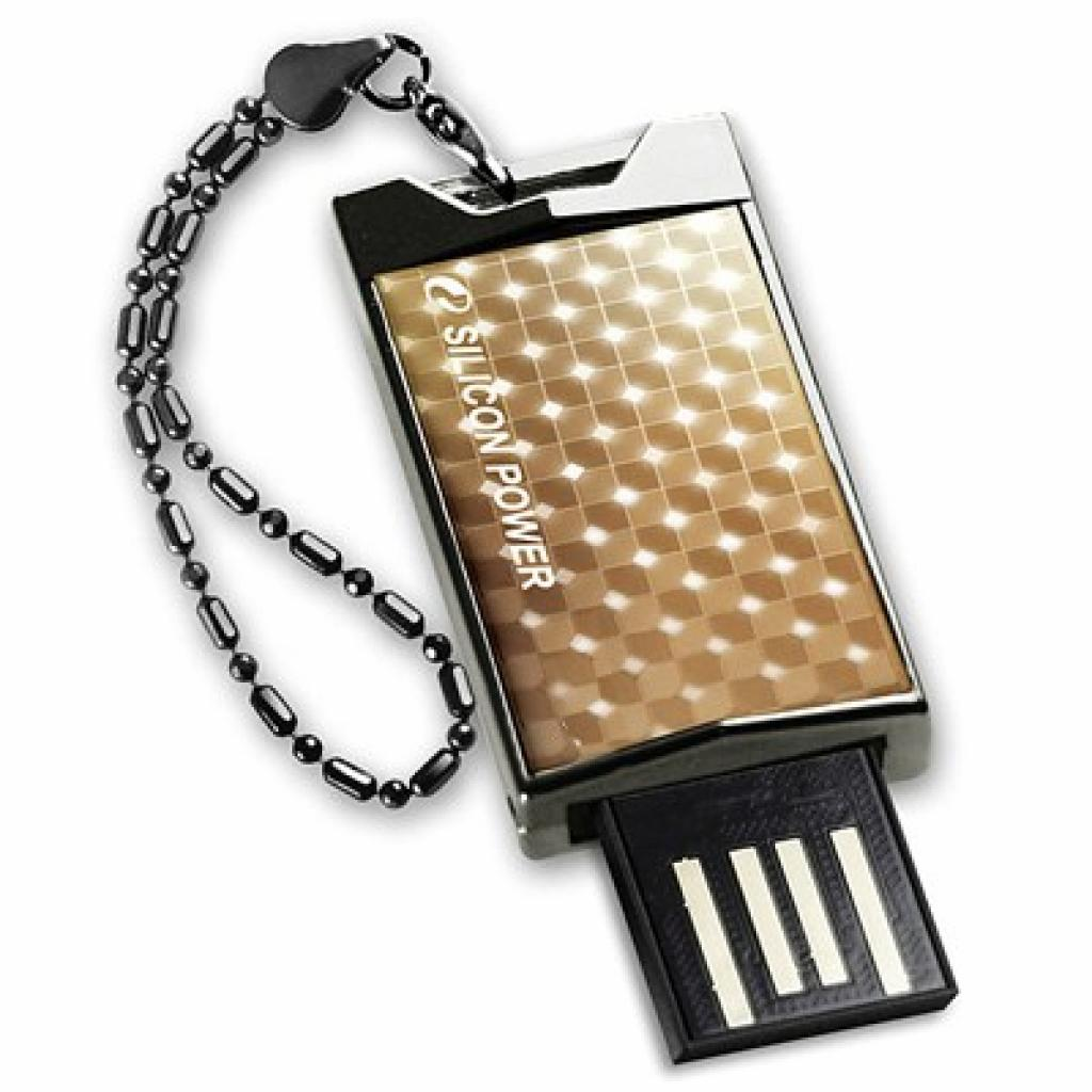 USB флеш накопитель 8Gb 851 gold Silicon Power (SP008GBUF2851V1G)