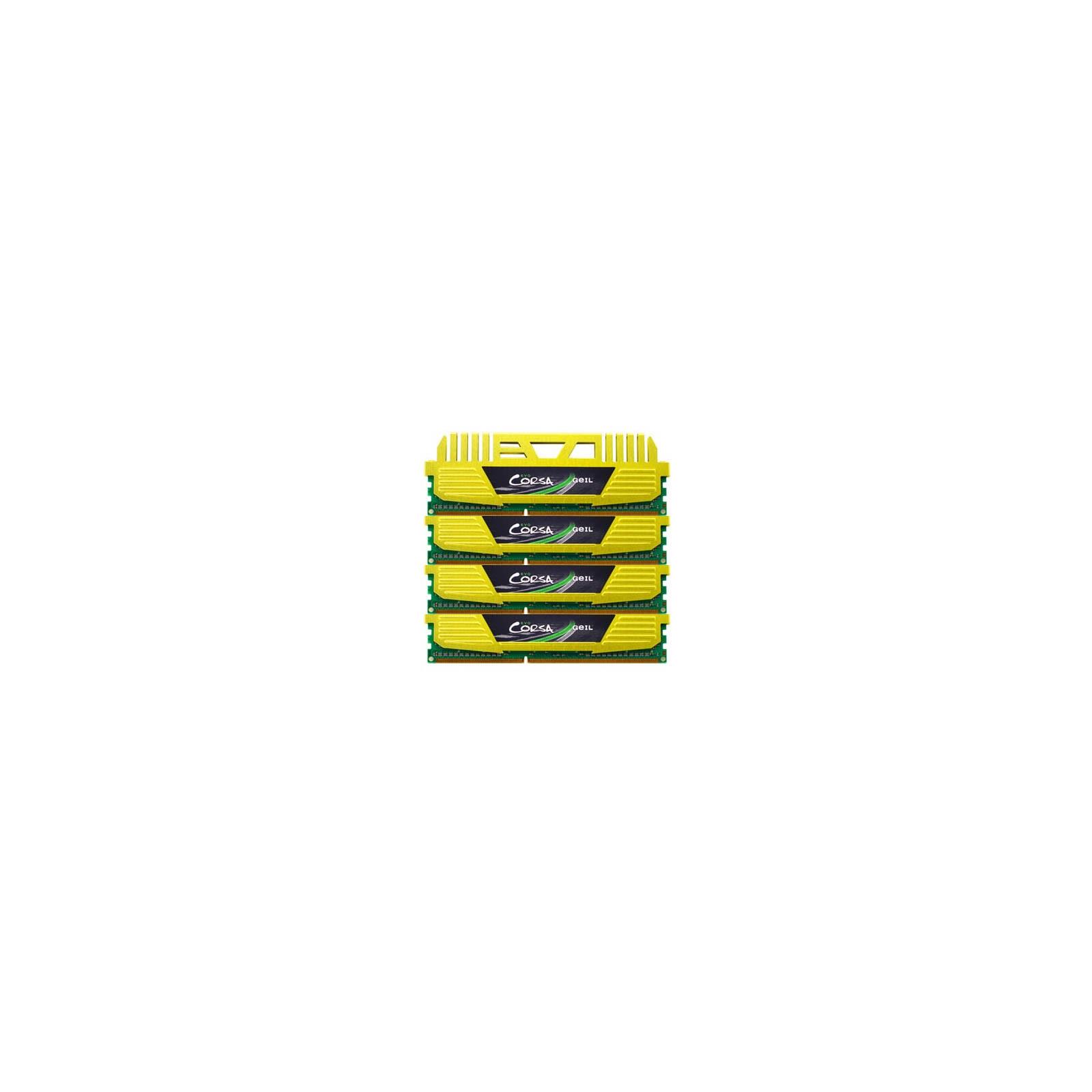 Модуль памяти для компьютера DDR3 16GB (4x4GB) 2133 MHz GEIL (GOC316GB2133C10AQC)