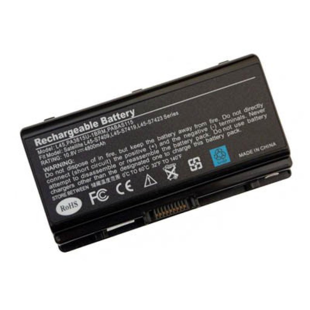 Аккумулятор для ноутбука Toshiba PA3615U Satellite L40 BatteryExpert (PA3615U-1BRM L 44)