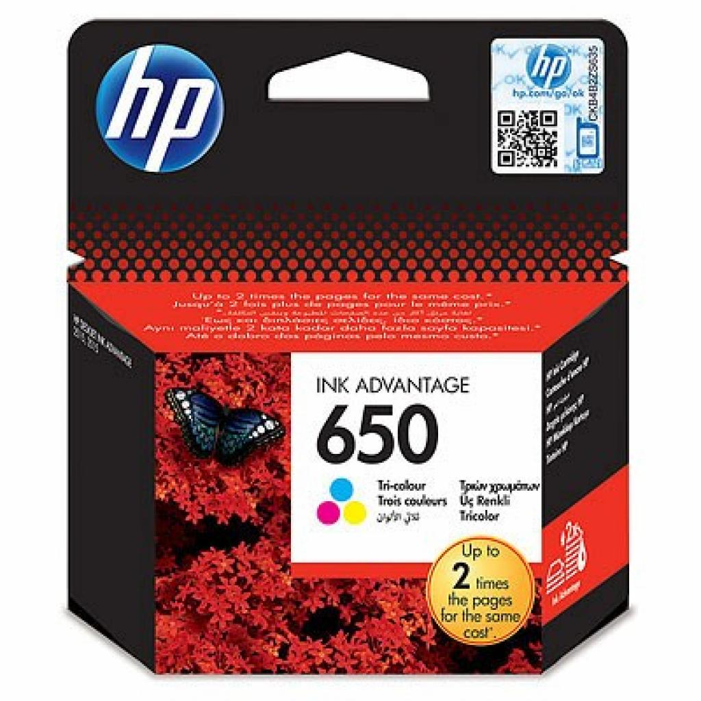 Картридж HP DJ No.650 DJ2515 Color (CZ102AE)