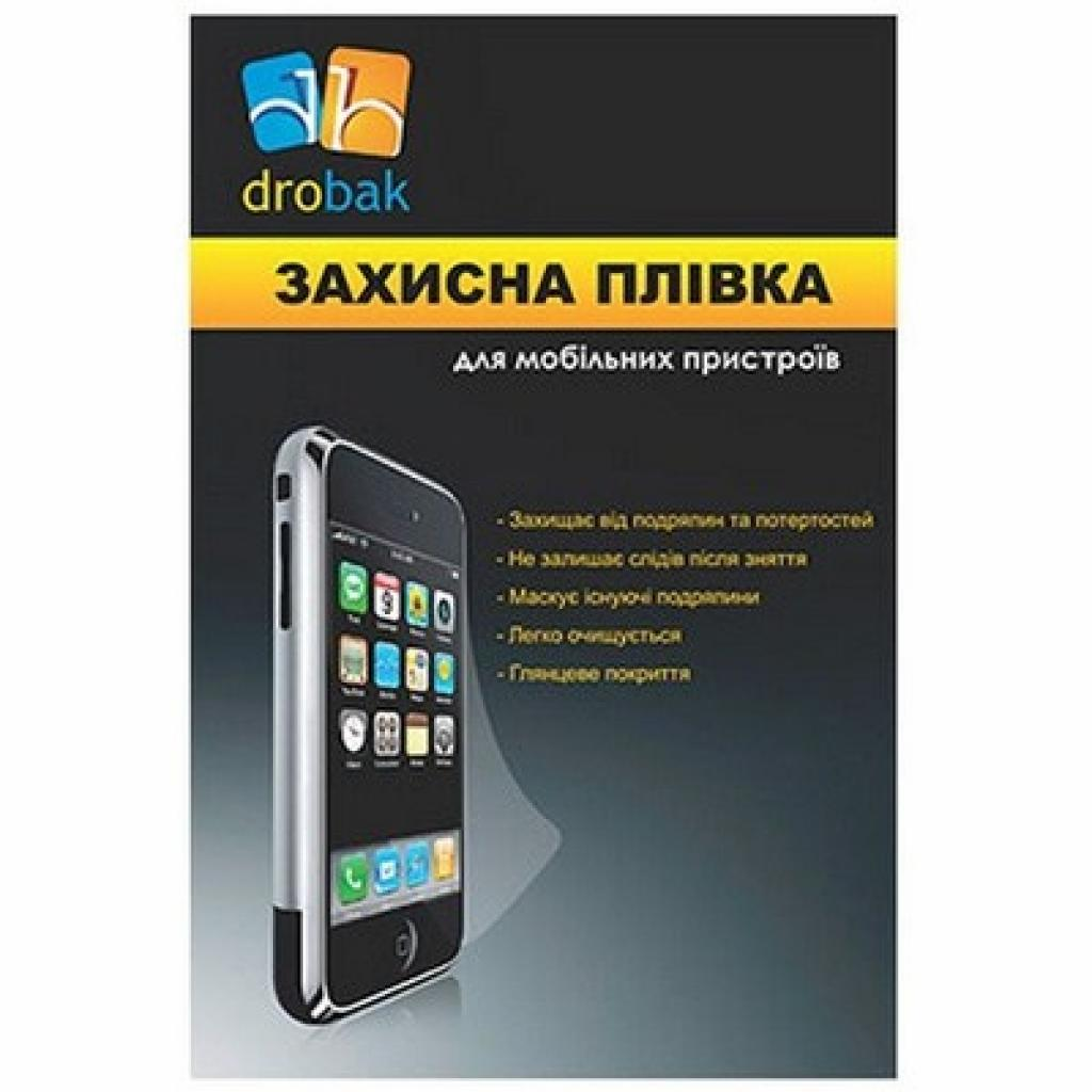 Пленка защитная Drobak LG Nexus 4 (501528)