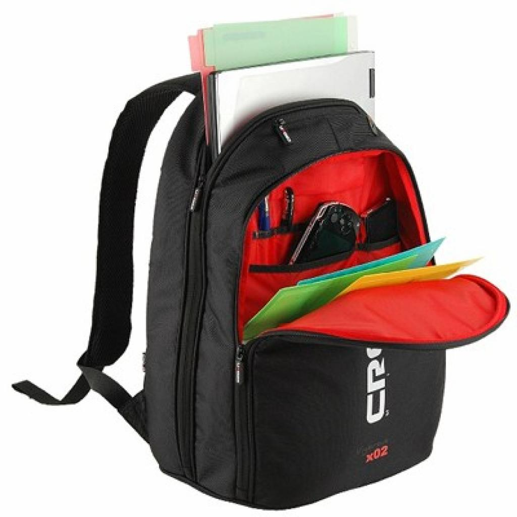 Рюкзак для ноутбука Crown 15.6 Vigorous x02 black (BPV215B) изображение 2