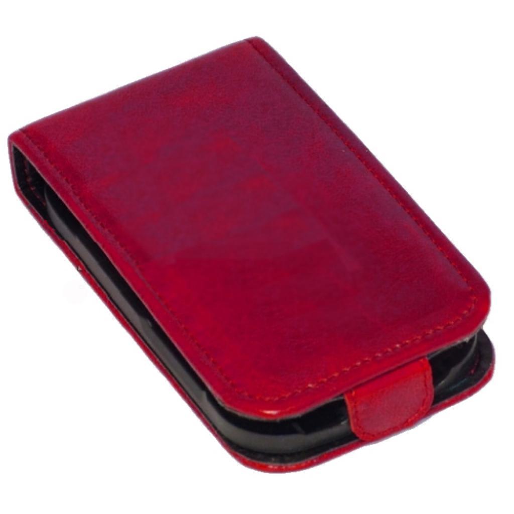 Чехол для моб. телефона KeepUp для Samsung i8160 Galaxy Ace II Red/FLIP (00-00010153) изображение 3