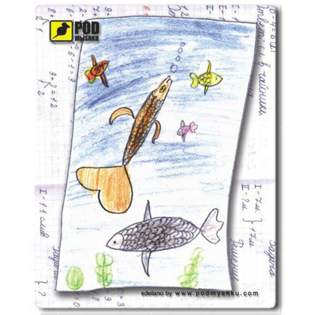 Коврик Pod Mishkou Детские рыбки