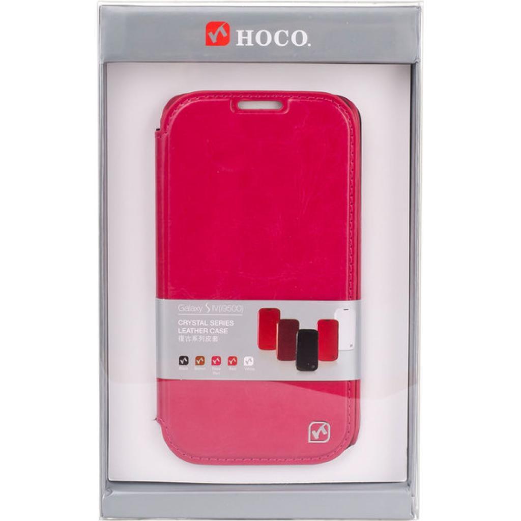 Чехол для моб. телефона HOCO для Samsung I9500 Galaxy S4 /Crystal (HS-L022 Rose Red) изображение 4