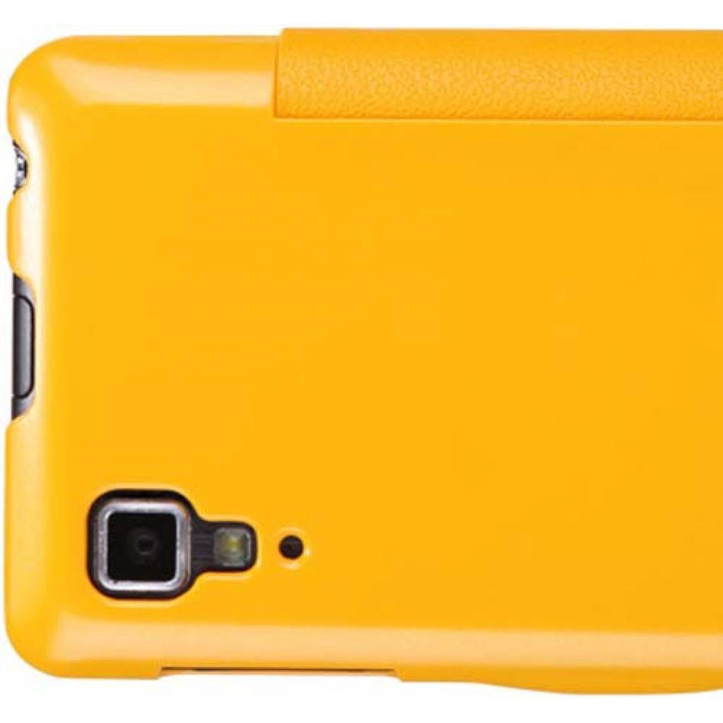Чехол для моб. телефона NILLKIN для Lenovo P780 /Fresh/ Leather/Yellow (6100781) изображение 4