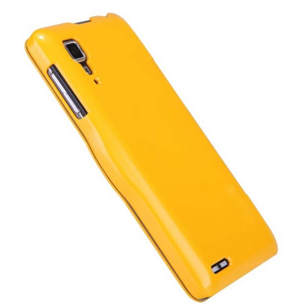 Чехол для моб. телефона NILLKIN для Lenovo P780 /Fresh/ Leather/Yellow (6100781) изображение 5