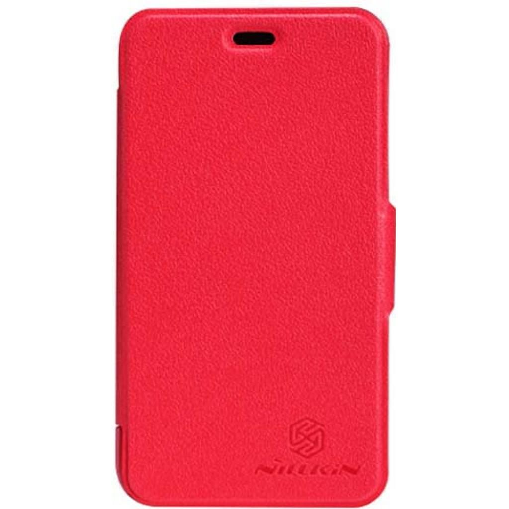 Чехол для моб. телефона NILLKIN для Nokia 620 /Fresh/ Leather/Red (6065692)