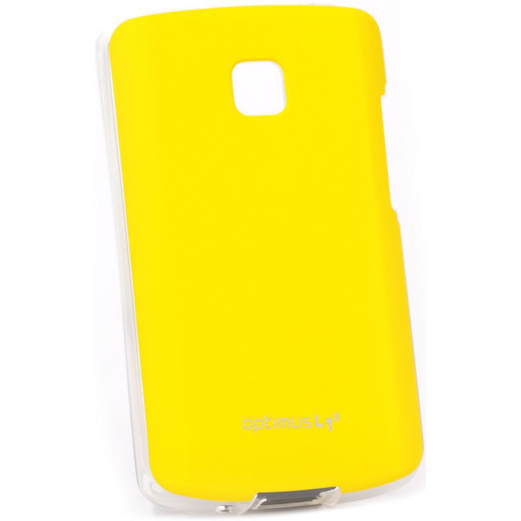 Чехол для моб. телефона VOIA для LG E410 Optimus L1II /Jell skin/Yellow (6093516)