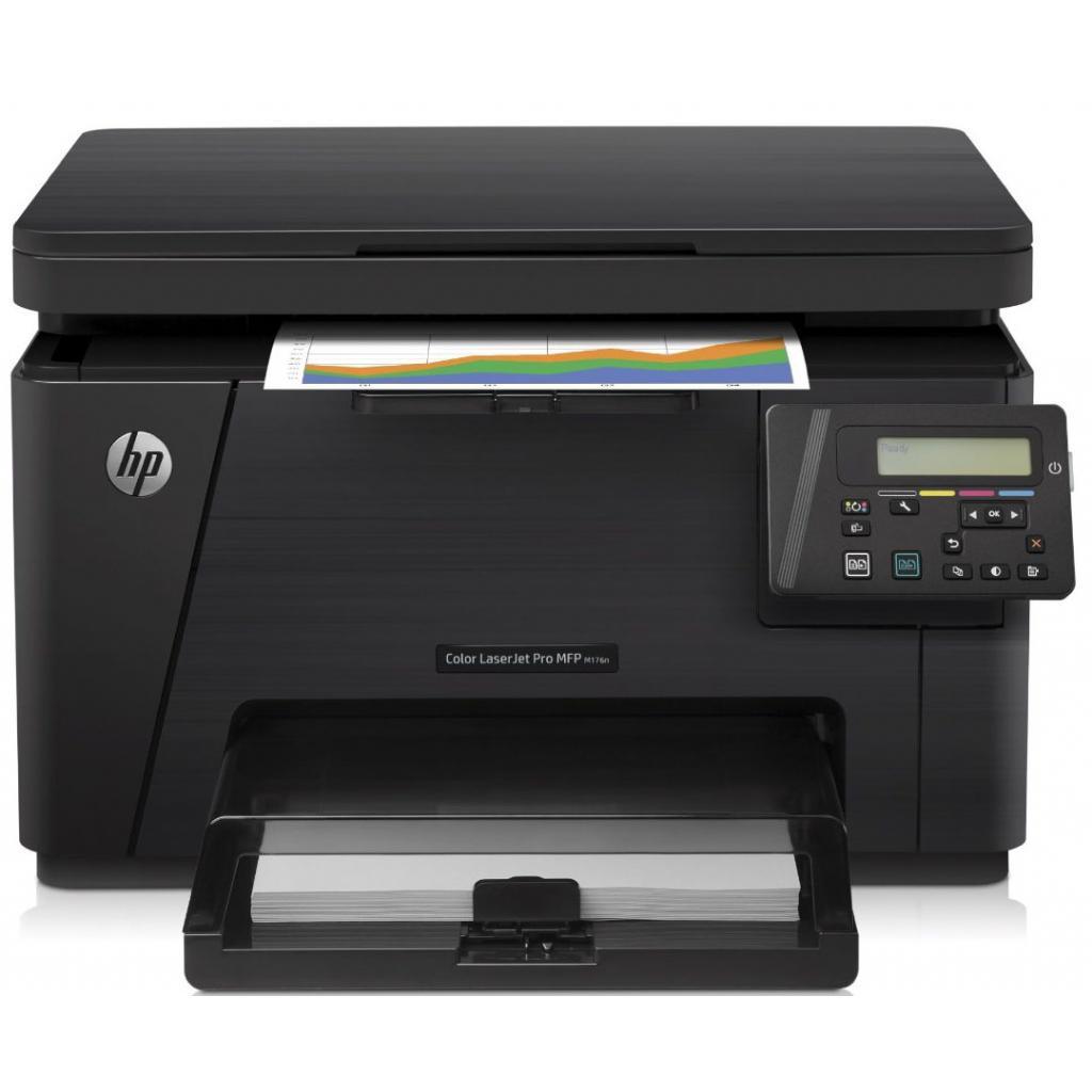Многофункциональное устройство HP Color LJ Pro M176n (CF547A) изображение 2
