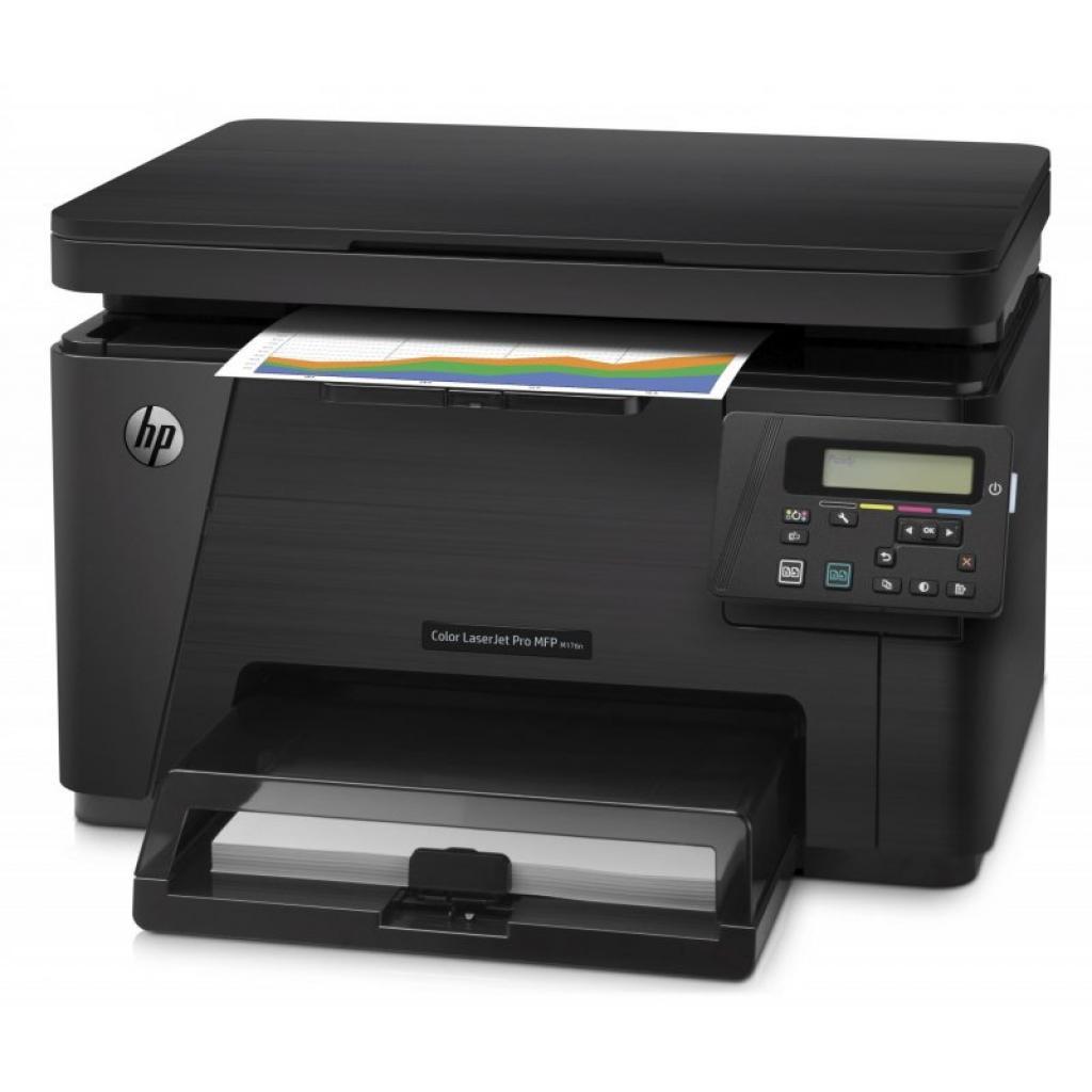 Многофункциональное устройство HP Color LJ Pro M176n (CF547A) изображение 3