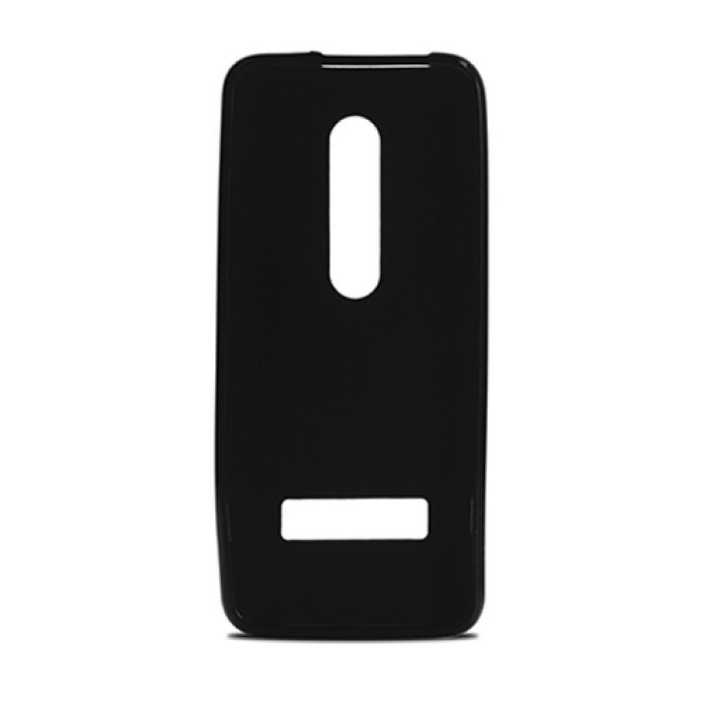 Чехол для моб. телефона для Nokia 301 (Black) Elastic PU Drobak (215110) изображение 2