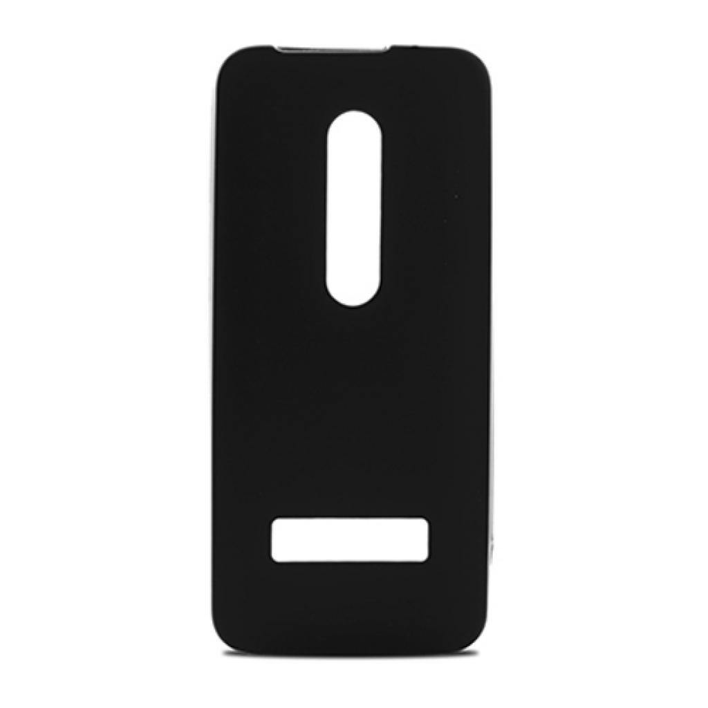Чехол для моб. телефона для Nokia 301 (Black) Elastic PU Drobak (215110)