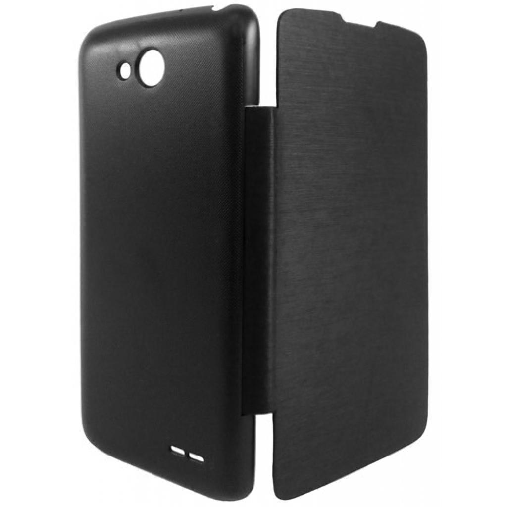 Чехол для моб. телефона GLOBAL для LG D410 L90 Dual (PU, черный) (1283126459269) изображение 2
