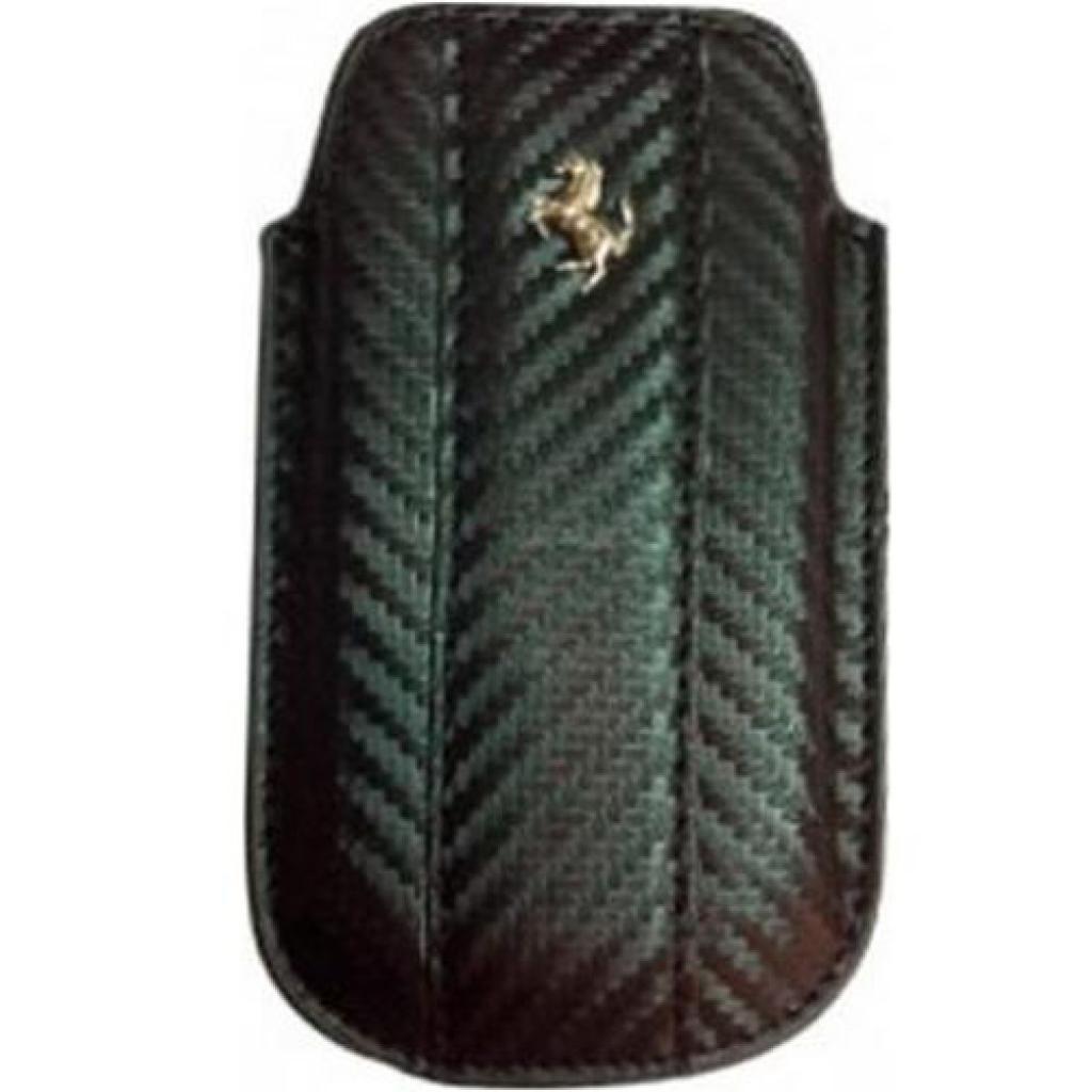 Чехол для моб. телефона Pro-case Универсальный Чохол-сумка carbon Ferrari Metal Logo (L) for (PCML)