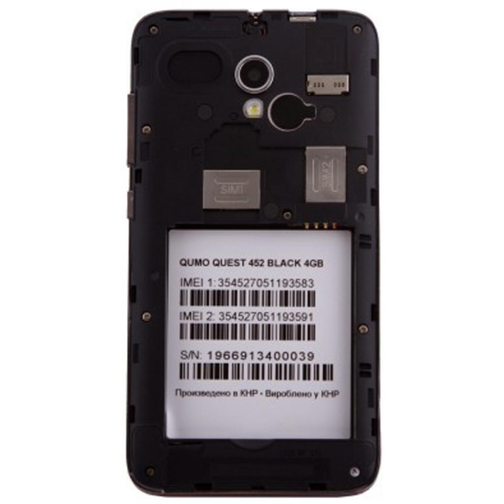 Мобильный телефон Qumo QUEST 452 IPS Black (6909723197551) изображение 8