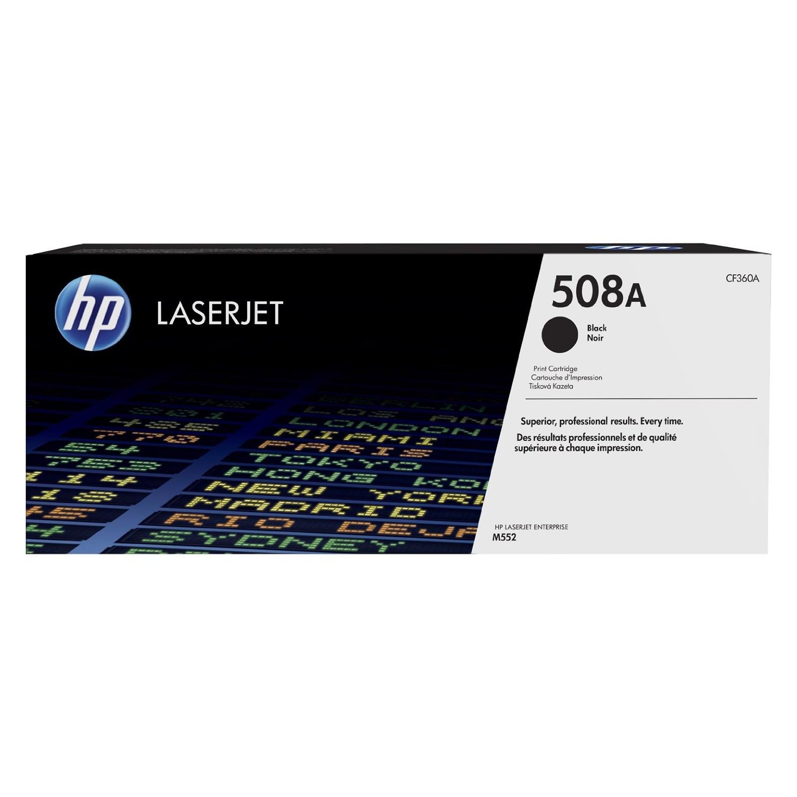 Картридж HP CLJ  508A Black M552dn/M553dn/n/x (CF360A)