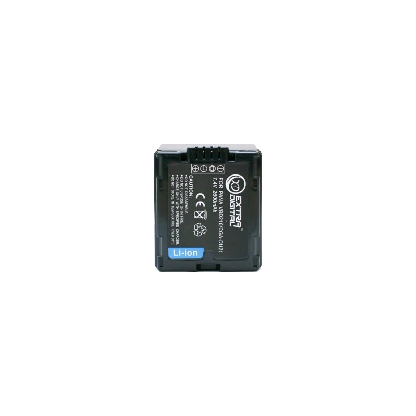 Аккумулятор к фото/видео EXTRADIGITAL Panasonic VBD210, CGA-DU21 (BDP2580)