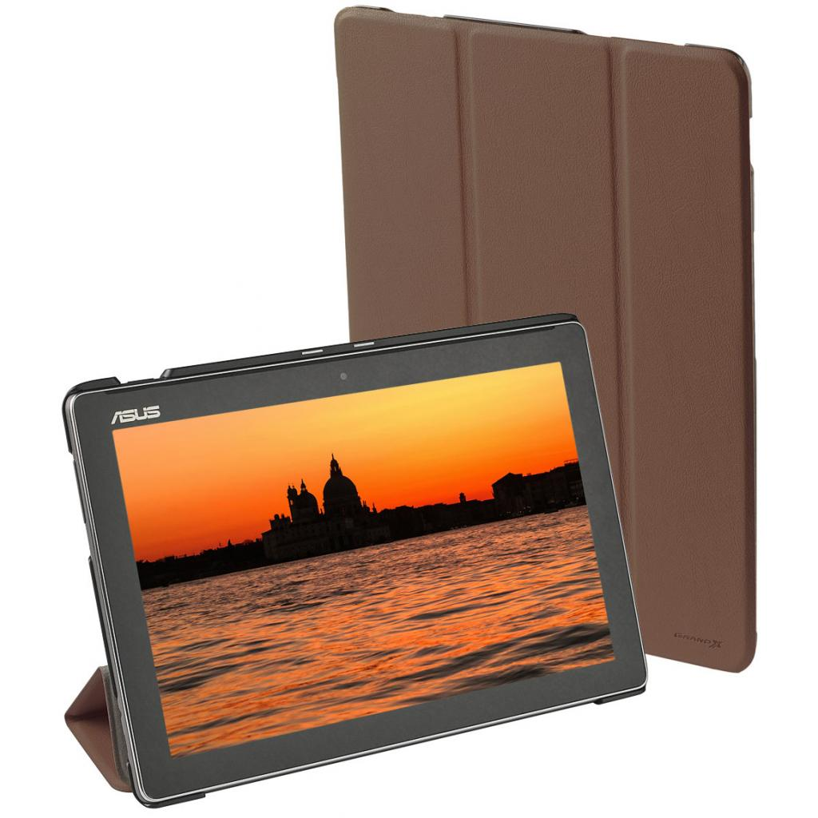 Чехол для планшета Grand-X ASUS ZenPad 10 Z300/Z300C Brown (ATC - AZPZ300BR) изображение 7