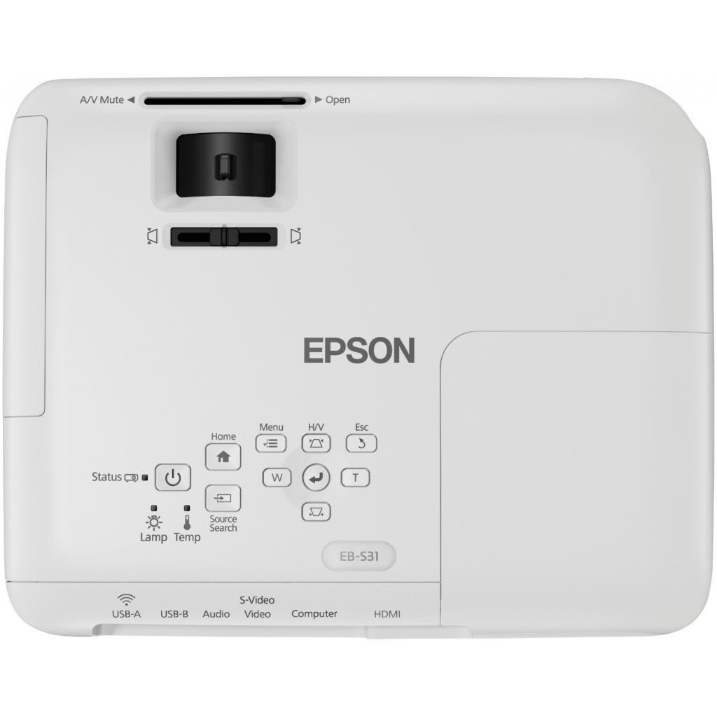 Проектор EPSON EB-S31 (V11H719040) изображение 6