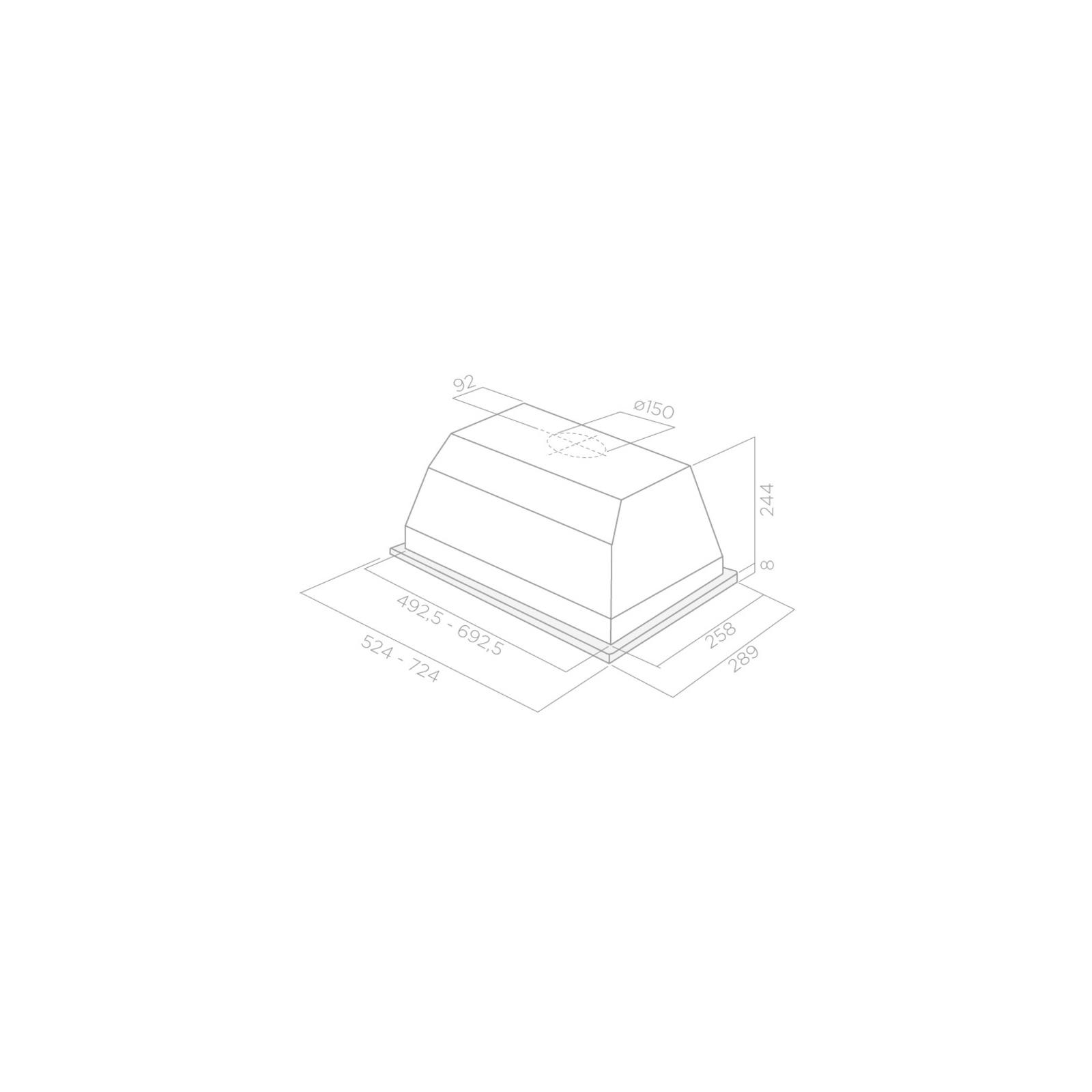 Вытяжка кухонная ELICA ELIBLOC LUX/GR A/60 изображение 3