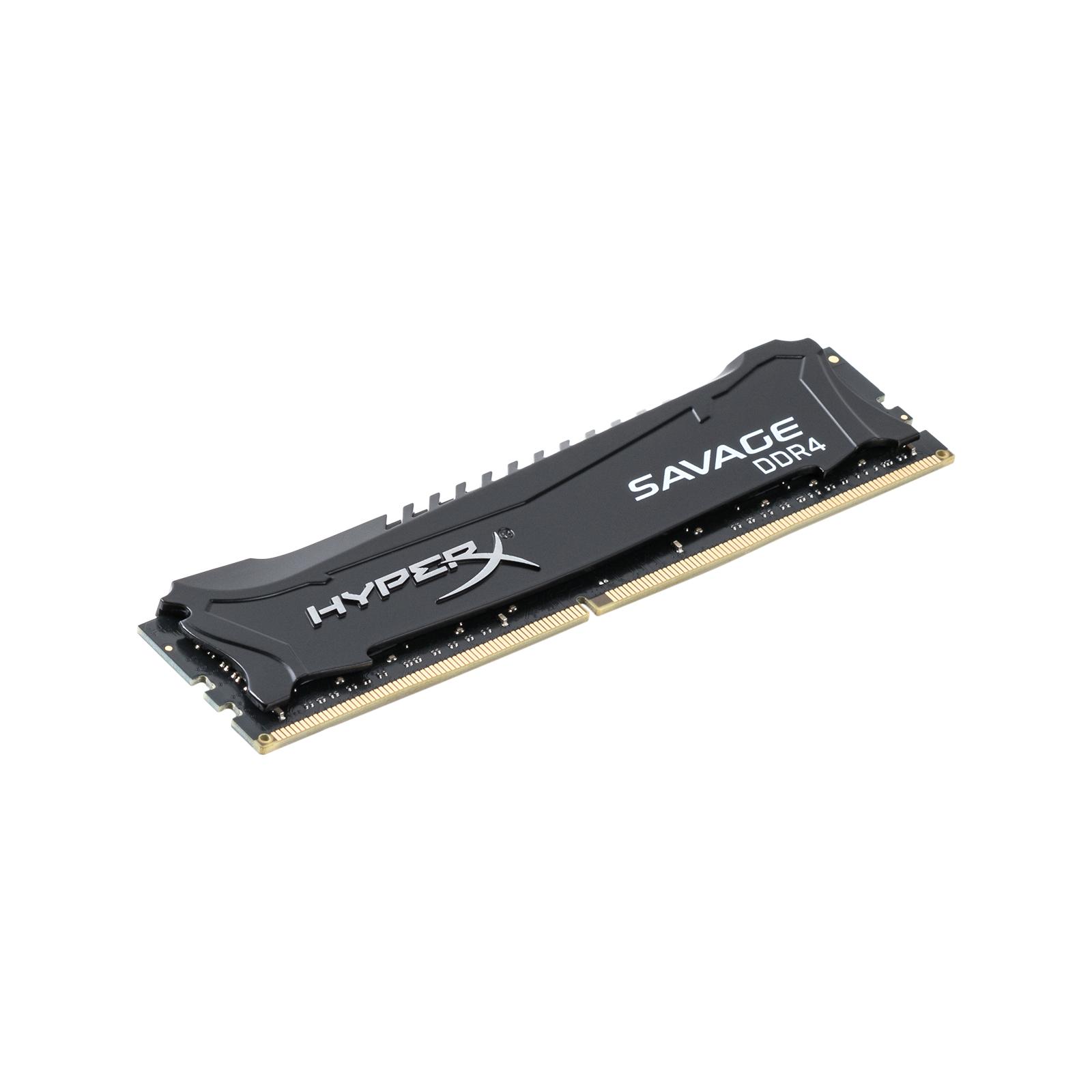 Модуль памяти для компьютера DDR4 8GB 2666 MHz HyperX Savage Black Kingston (HX426C13SB2/8)