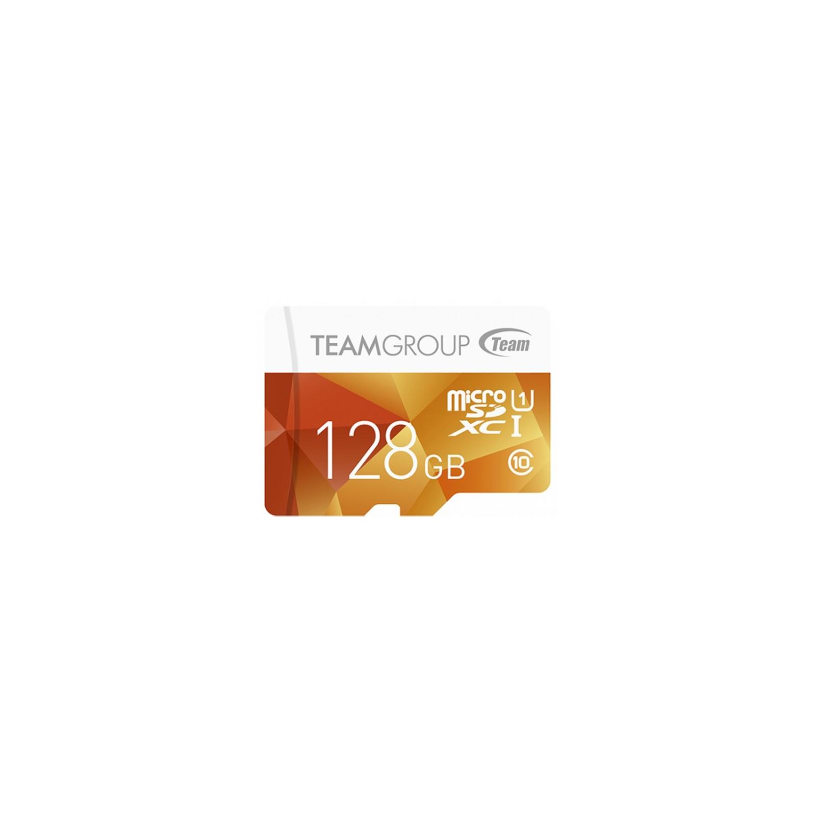 Карта памяти Team 128GB microSD Class 10 UHS-I (TCUSDX128GUHS02)