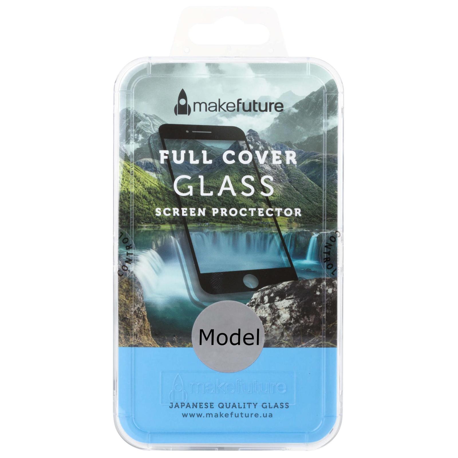 Стекло защитное MakeFuture для Meizu M6 Note White Full Cover (MGFC-MM6NW)