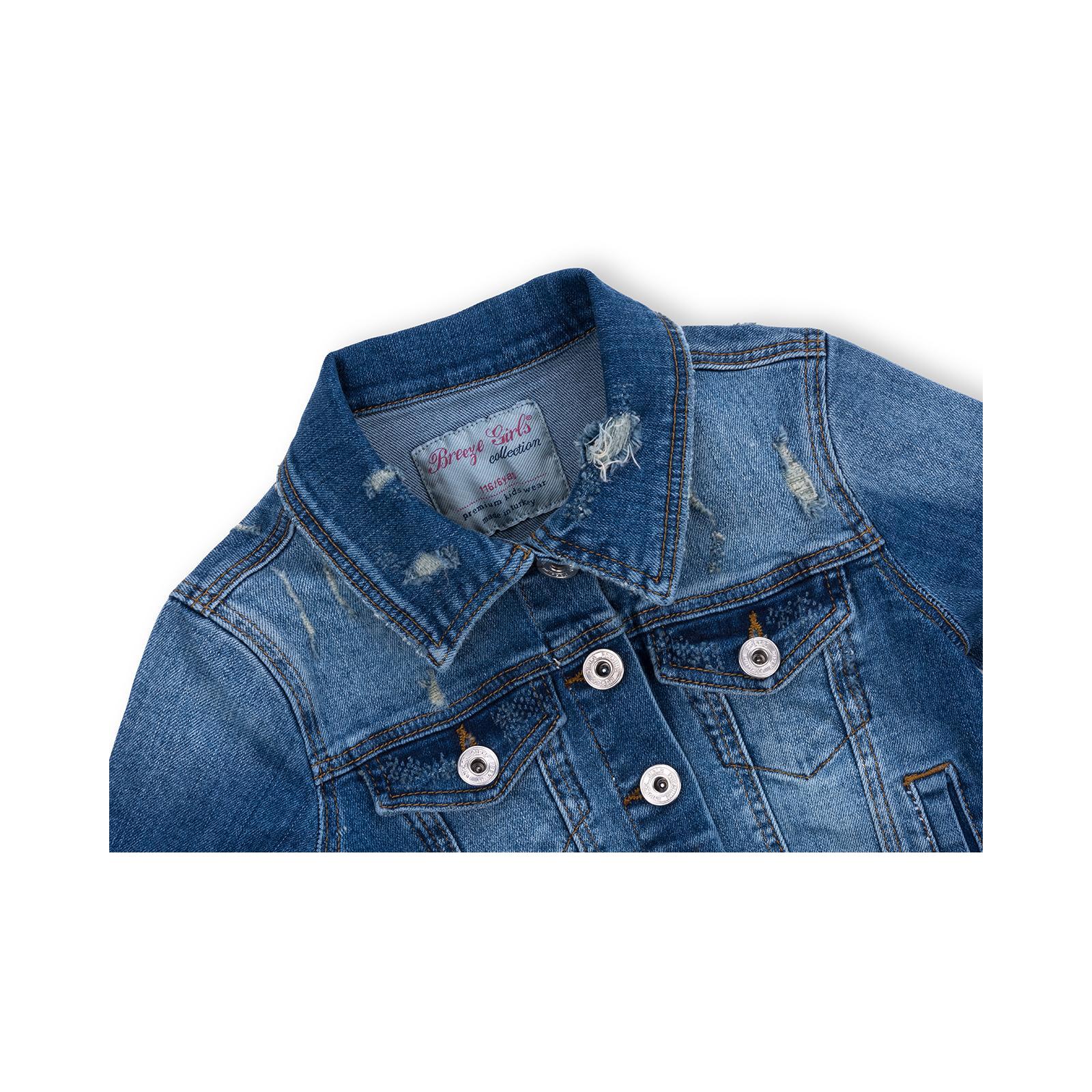 Куртка Breeze джинсовая укороченная (OZ-18801-134G-blue) изображение 3