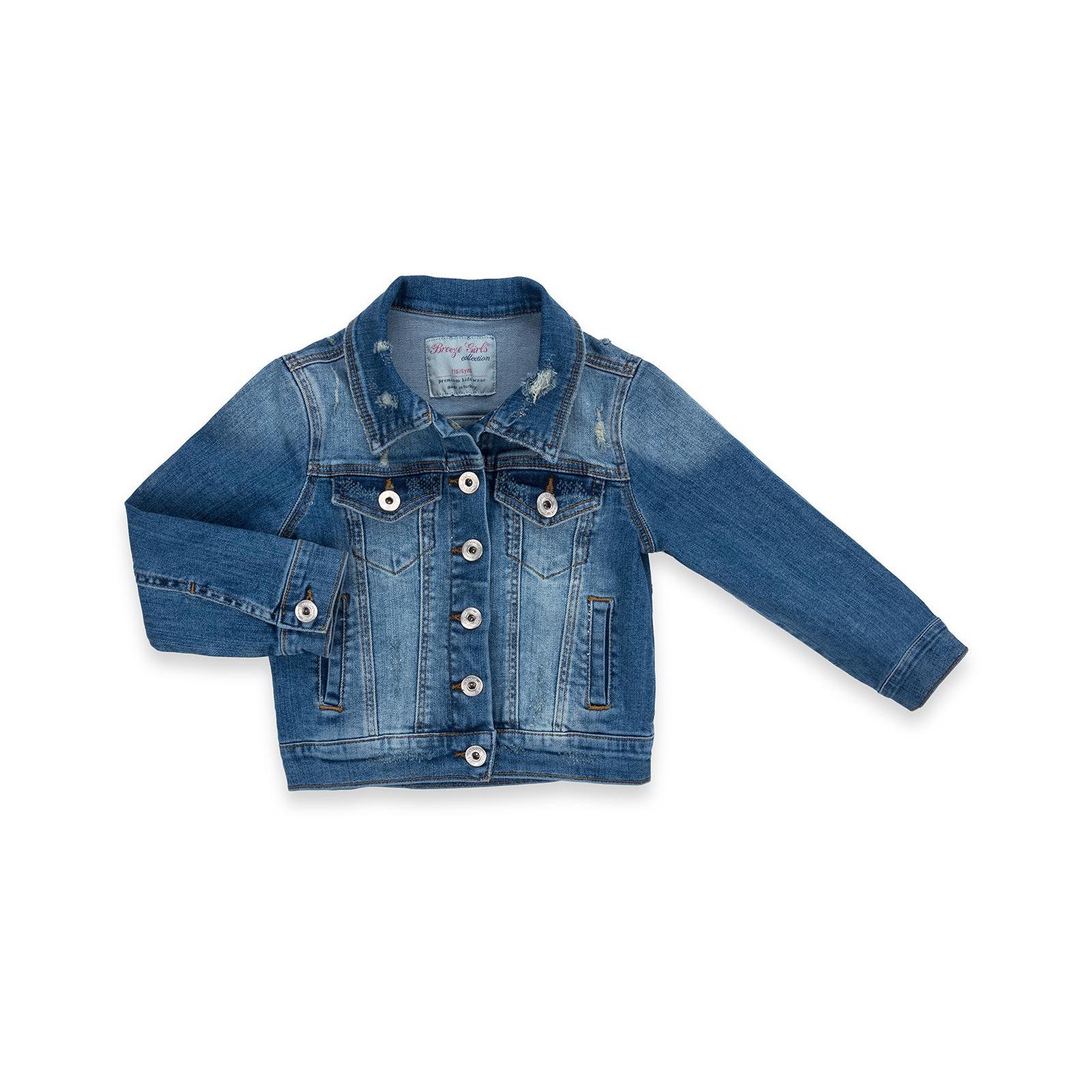 Куртка Breeze джинсовая укороченная (OZ-18801-134G-blue)