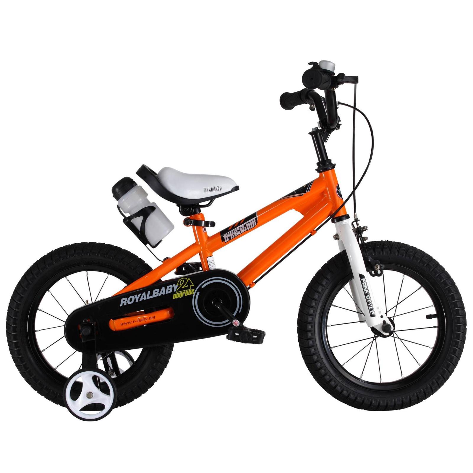"Детский велосипед Royal Baby FREESTYLE 14"", оранжевый (RB14B-6-ORG)"