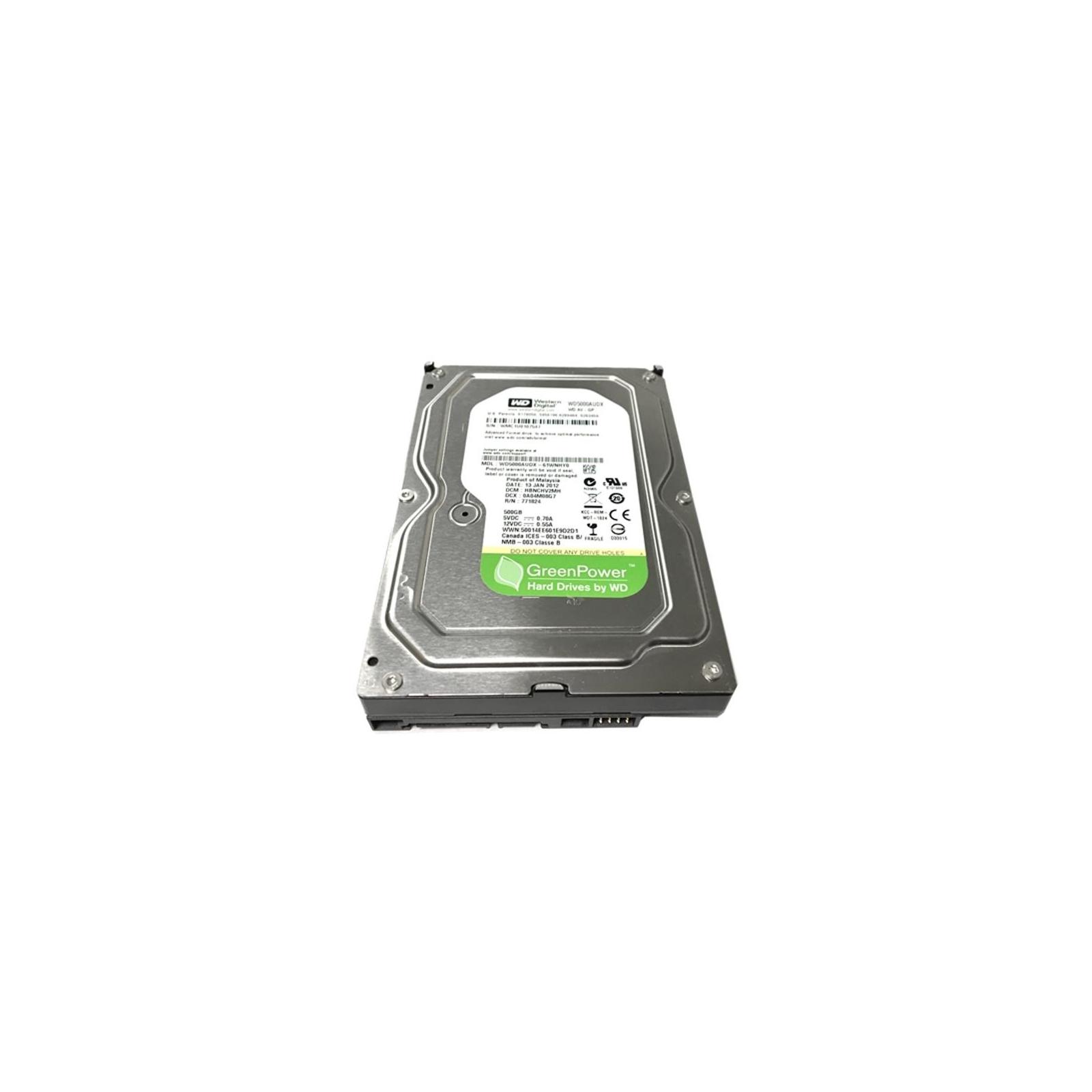 """Жесткий диск 3.5""""  500Gb WD (#WD5000AUDX-FR#) изображение 2"""