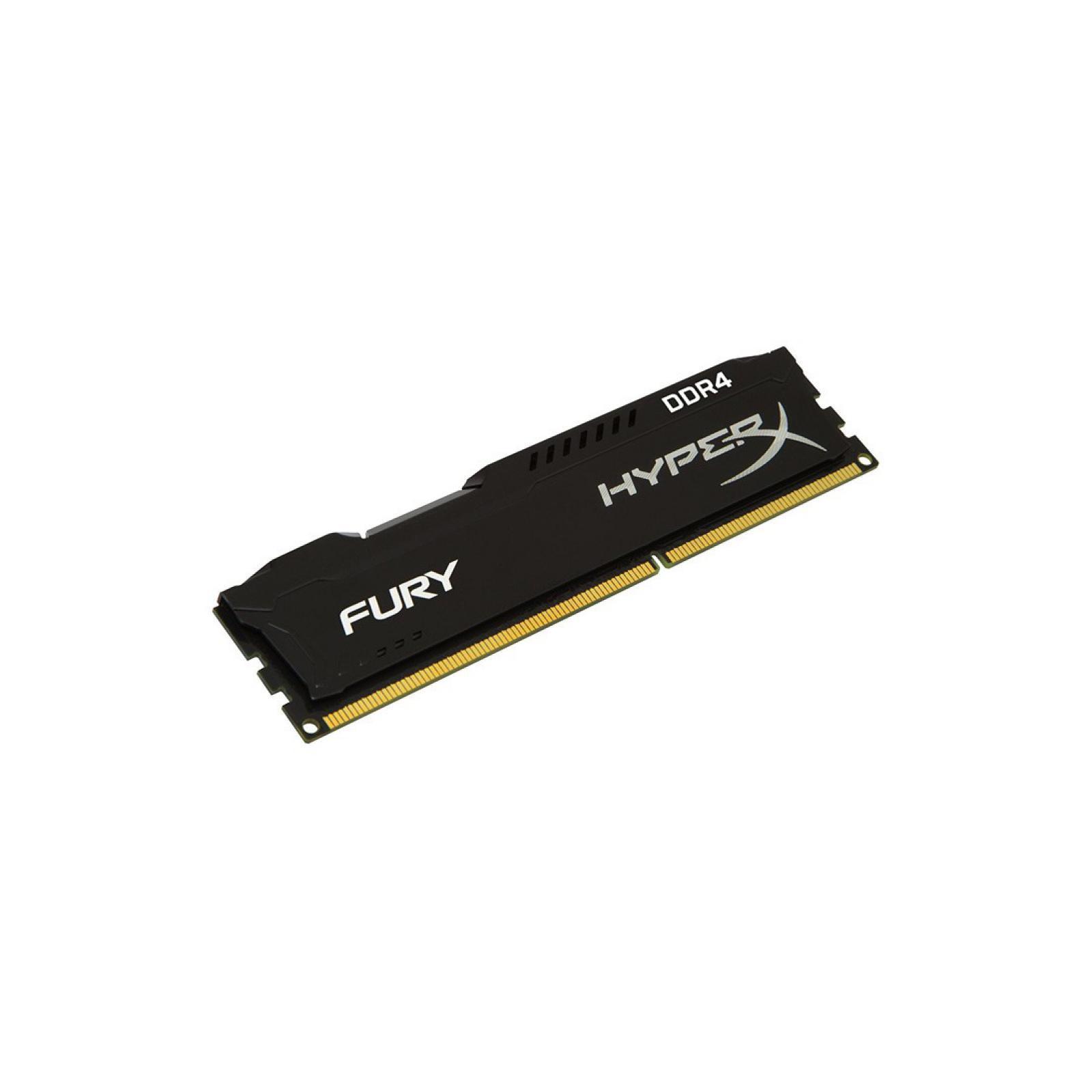 Модуль памяти для компьютера DDR4 8GB 3466 MHz HyperX FURY Black HyperX (Kingston Fury) (HX434C19FB2/8) изображение 2