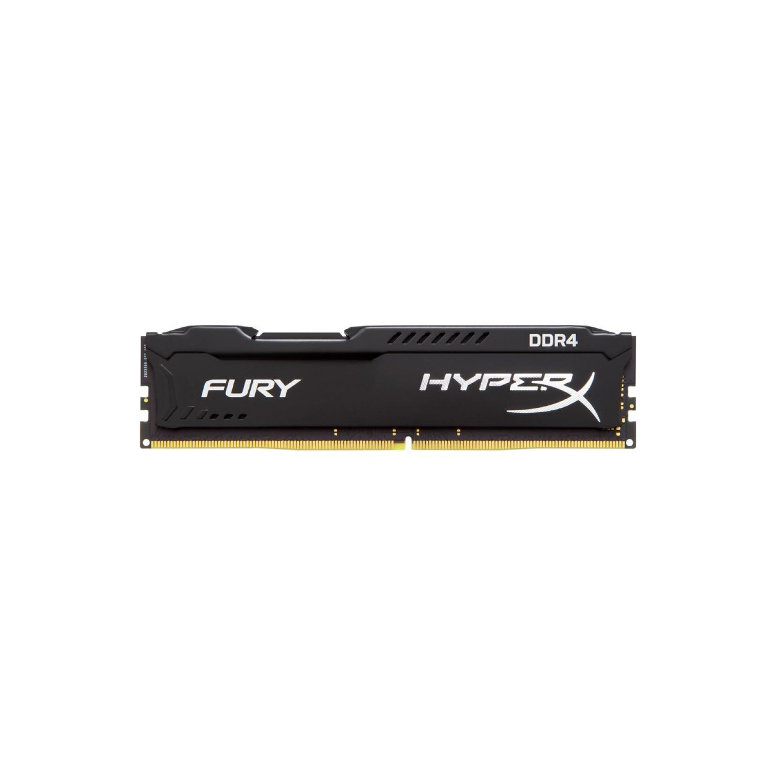 Модуль памяти для компьютера DDR4 8GB 3466 MHz HyperX FURY Black HyperX (Kingston Fury) (HX434C19FB2/8)