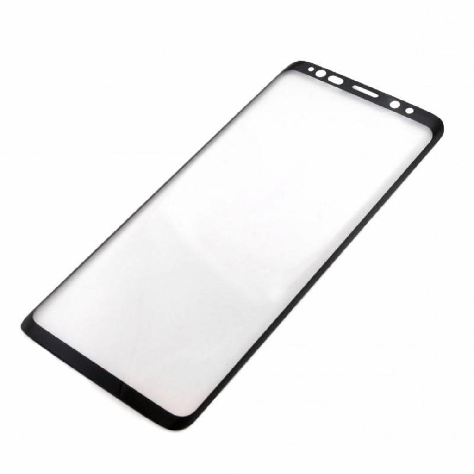 Стекло защитное iSG для Samsung Galaxy S9 3D Full Cover Black (SPG4430) изображение 2